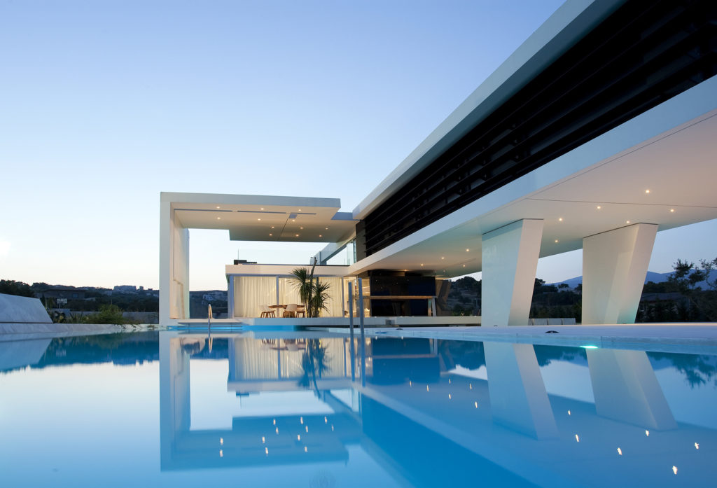 Modern h3 house in Greece oman