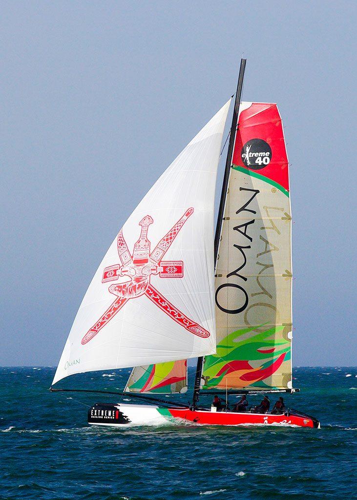 Oman sailing